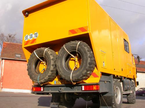Camion 4x4 Bucéphale