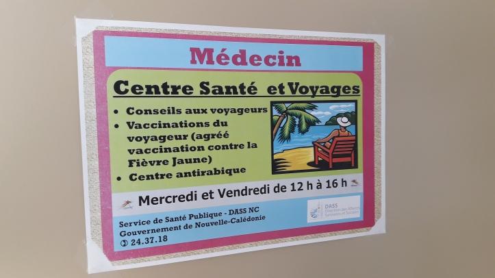 Centre santé et voyage - Nouméa