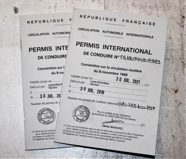 Permis de conduite international